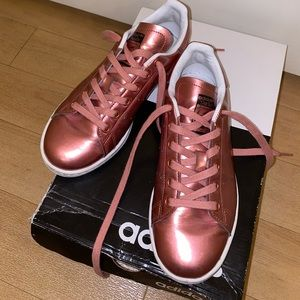 Adidas Pink Shiny Stan Smith's